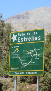 Ruta de las Estrellas, the route of the stars, from one observatory to the next.