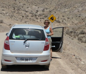 Outside of the river valleys it´s very dry, and the roads can be steep.