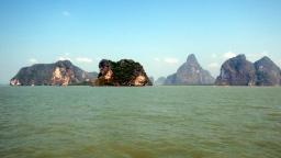 Phang Nga Bay typical scenery